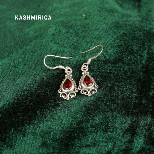 Kasra Earrings Green
