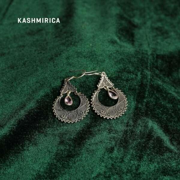 Jadirah Earrings Green