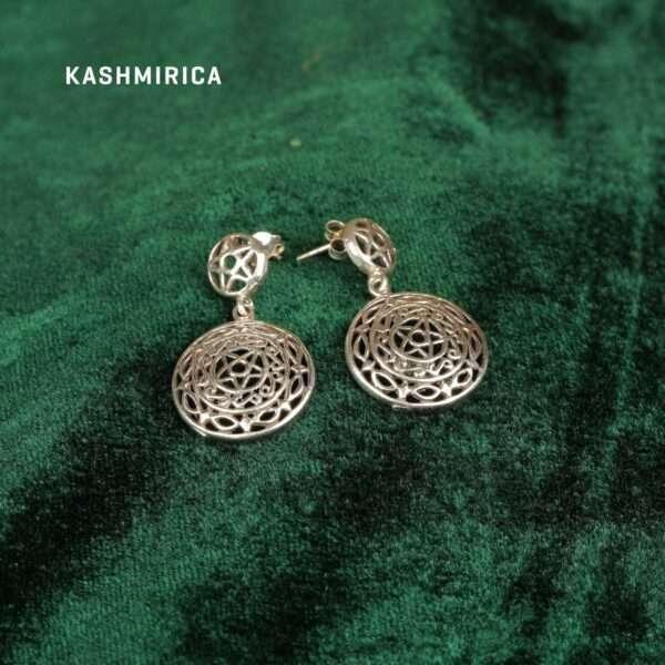 Ghazi Earrings Green