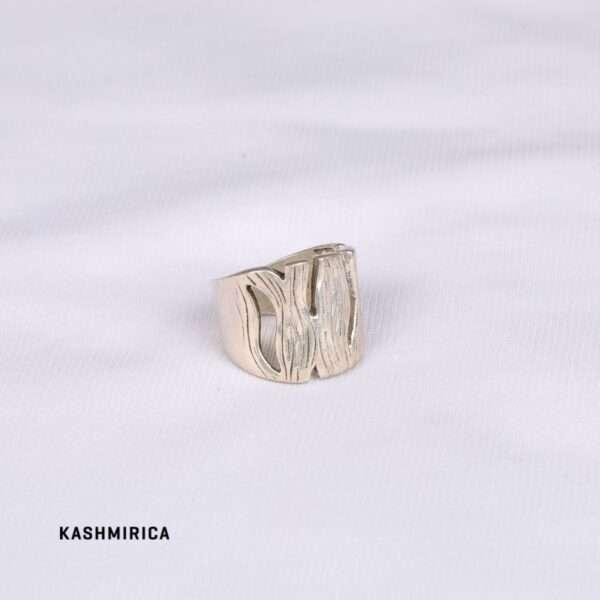 Naima Ring White