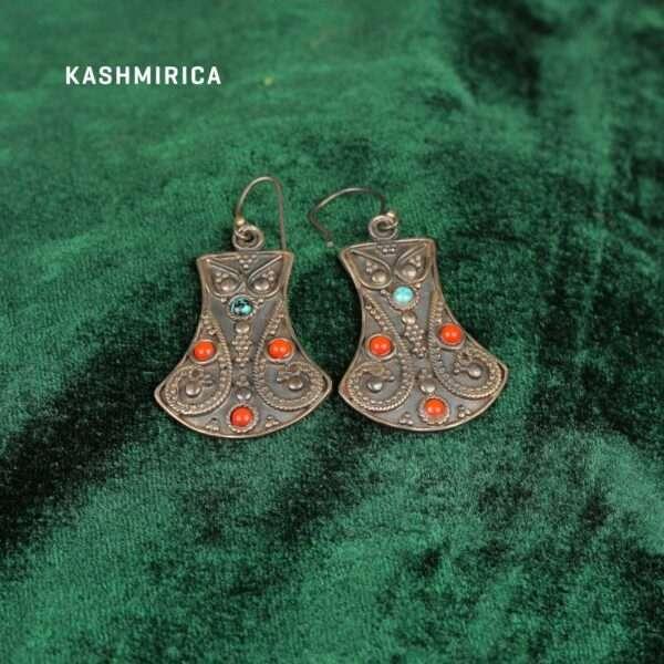 zarqa Earrings Green
