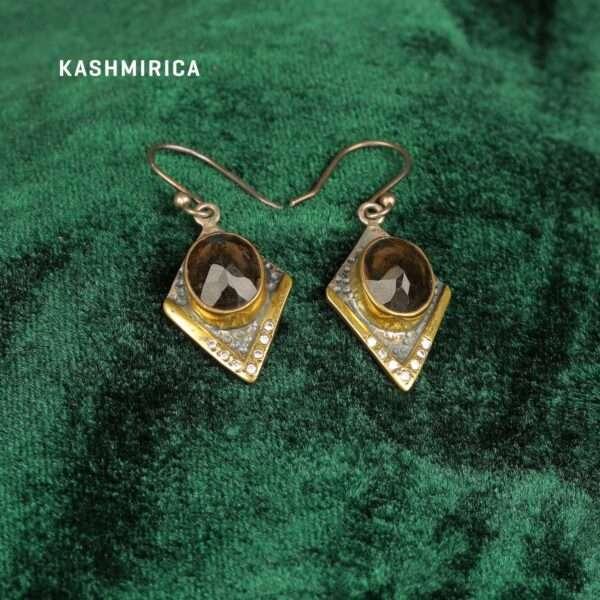 Afshin Earrings Green