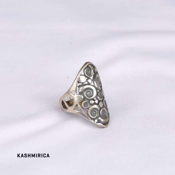 Anas Ring White