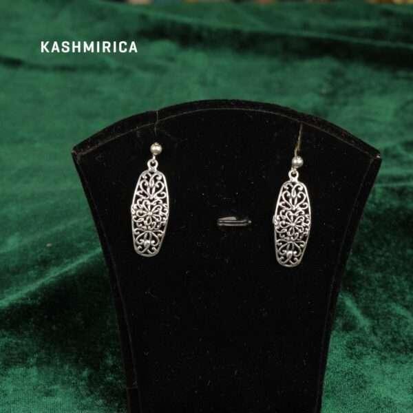 Aurum Earrings Green