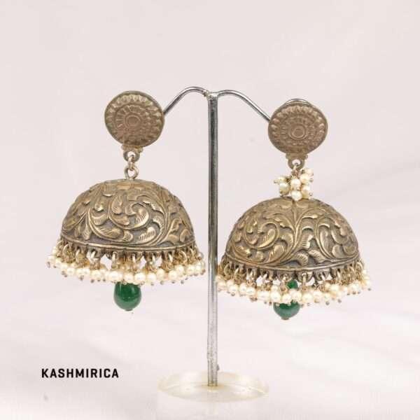 Hadra Earrings White