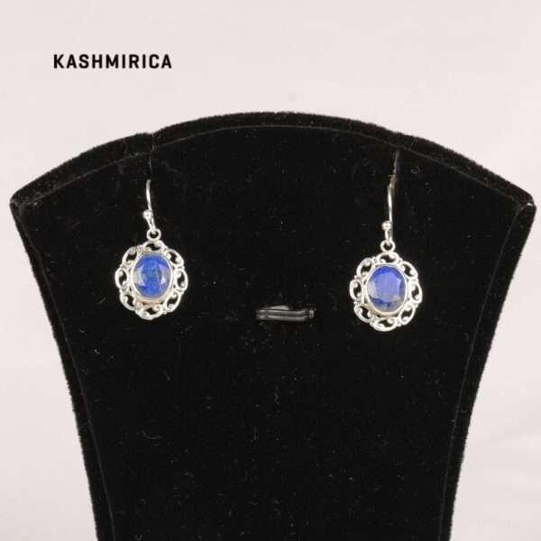 Kamyar Earrings White