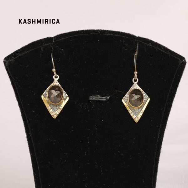 Afshin Earrings White