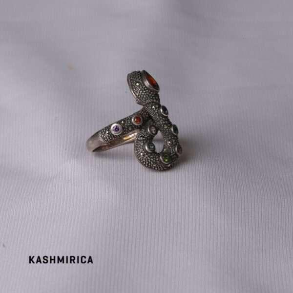 Zahra Ring White