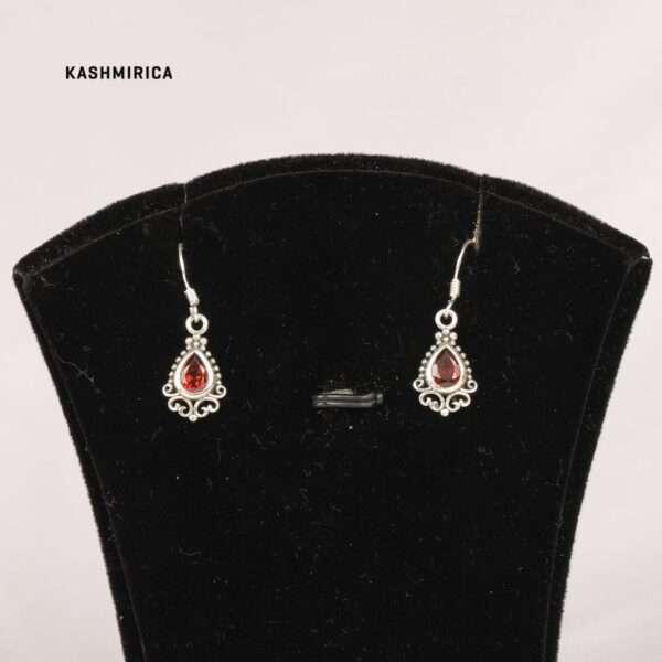 Kasra Earrings White