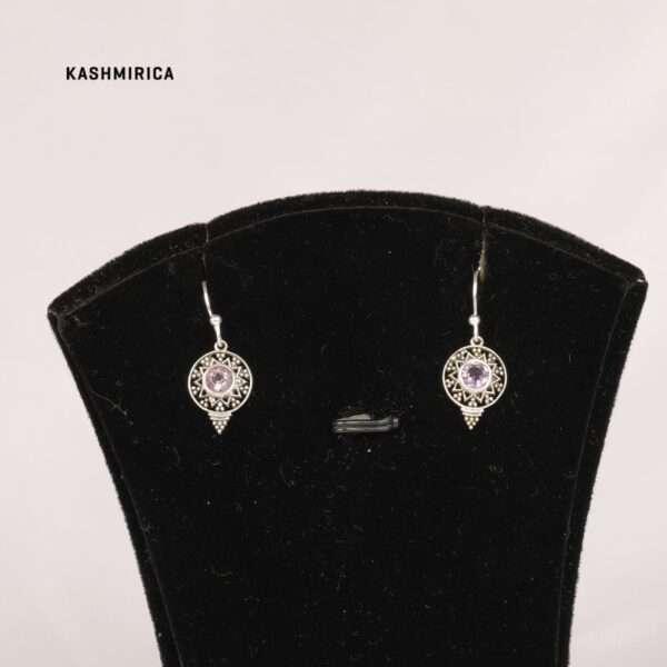 Bardia Earrings White