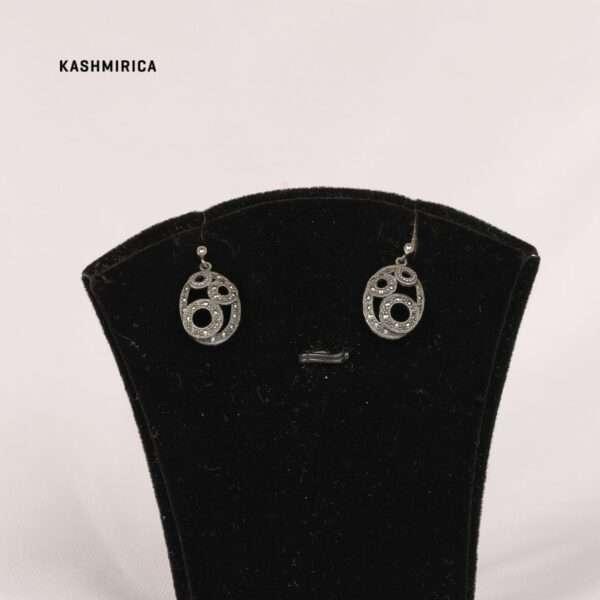Ruwa Earrings White