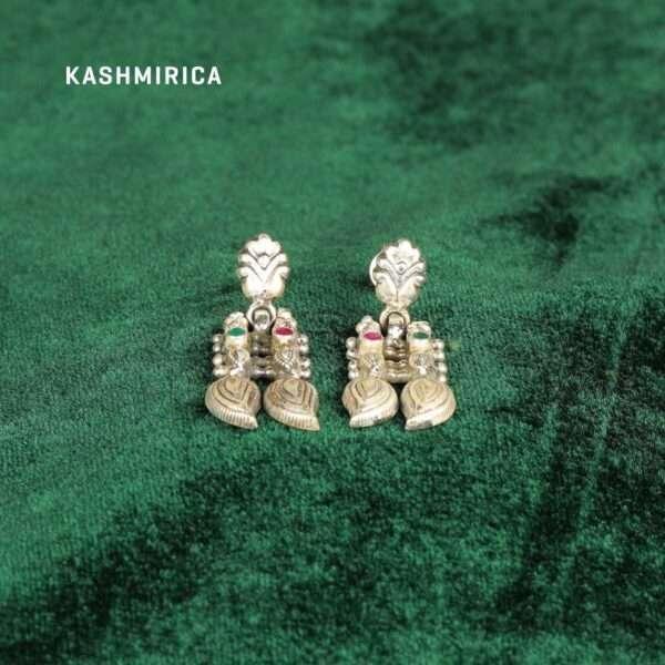 Hormuzd Earrings Green