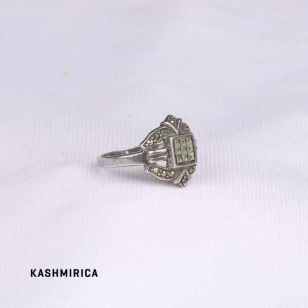 Shirin Ring White