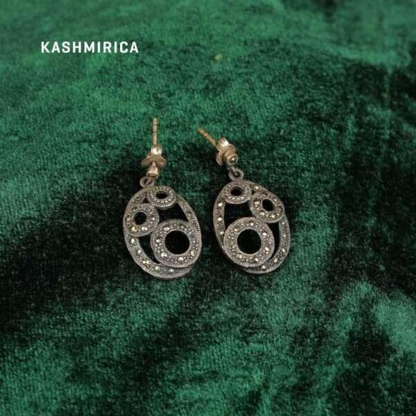 Ruwa Earrings Green