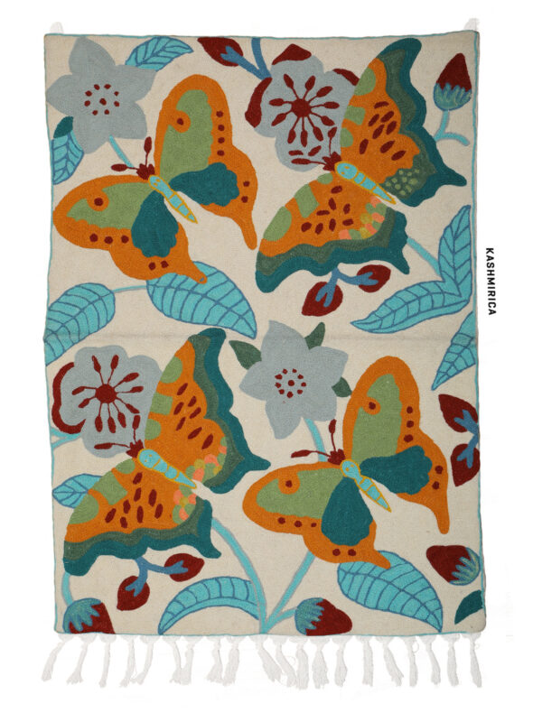 Qazm - Handmade Butterfly White Background