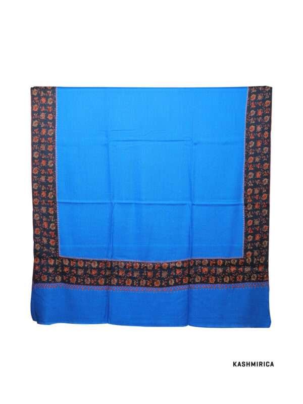 Blue & Black Kashmiri Shawl [Fine Wool]