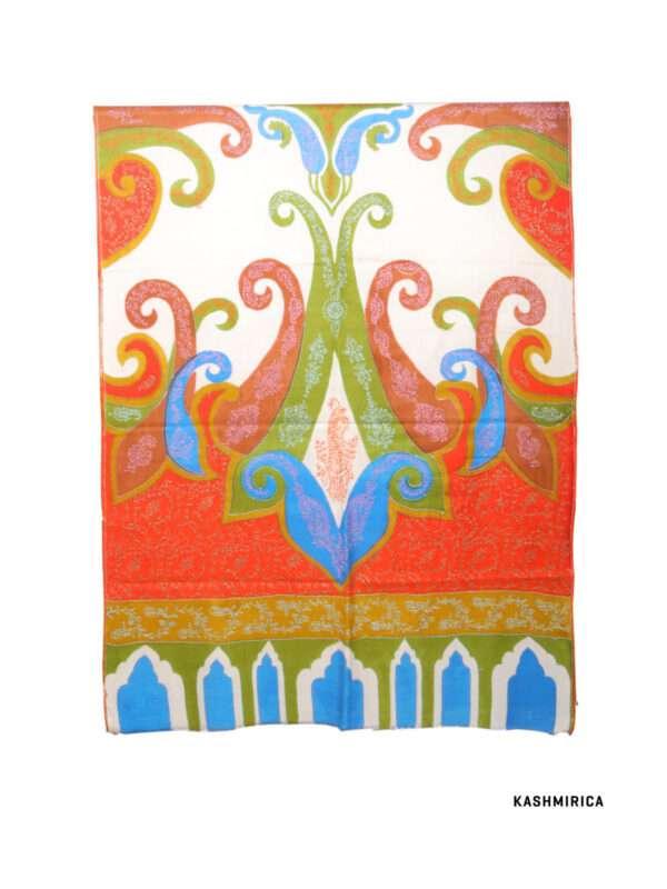 Fine Wool Kani Style Shawl