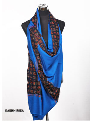 Blue & Black Shawl