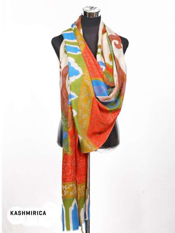 Fine Wool Kani Shawl