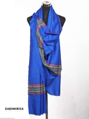 Blue Kashmiri Shawl
