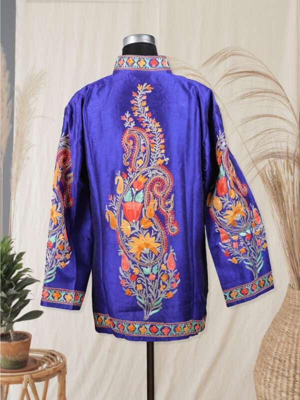 blue colour jacket