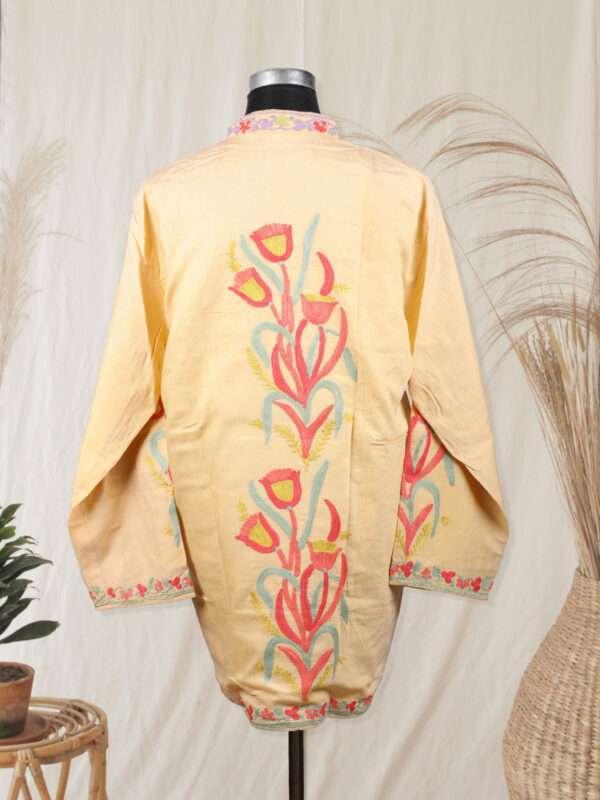 peach colour jacket