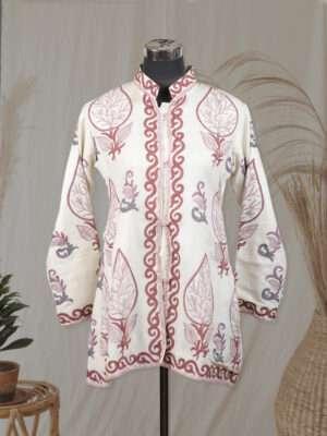 White colour jacket