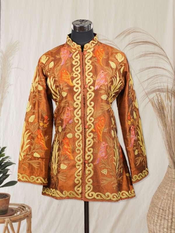 brown colour jacket