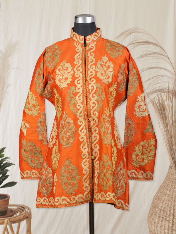 orange colour jacket