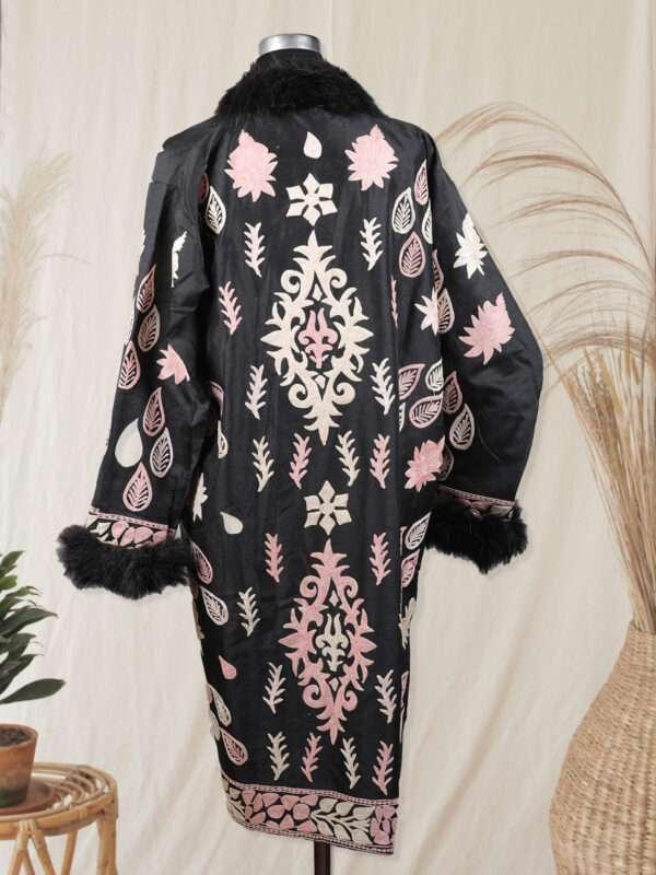 black colour kashmiri jacket