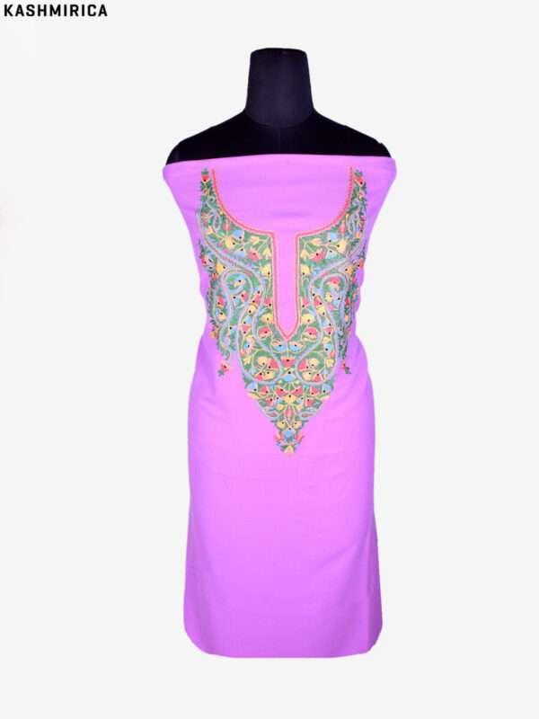 Purple Kashmiri Suit (4)