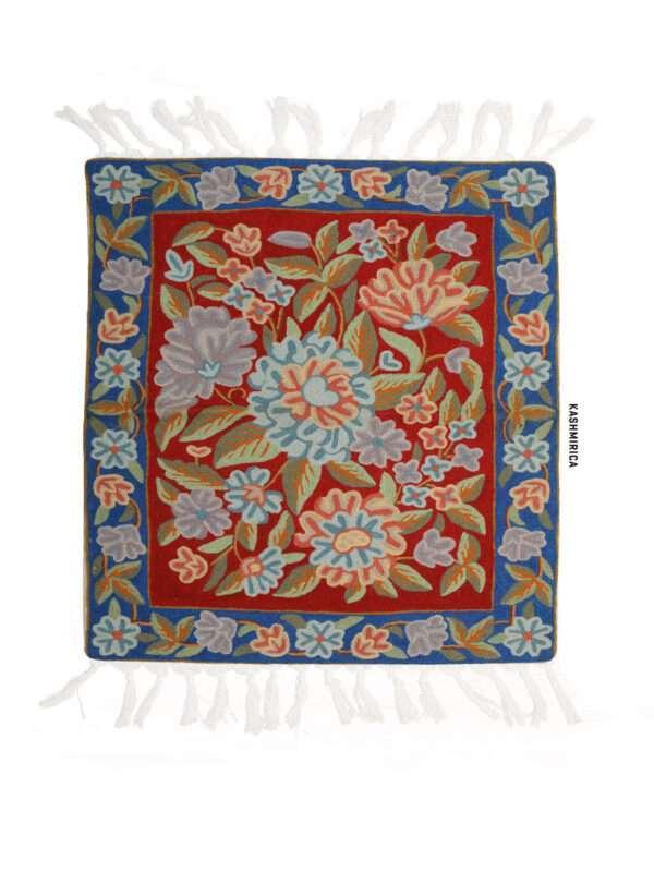 Nour Kashmiri Carpet White Background