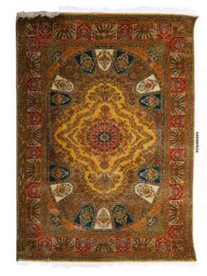 Heer Kashmiri Carpet White Background