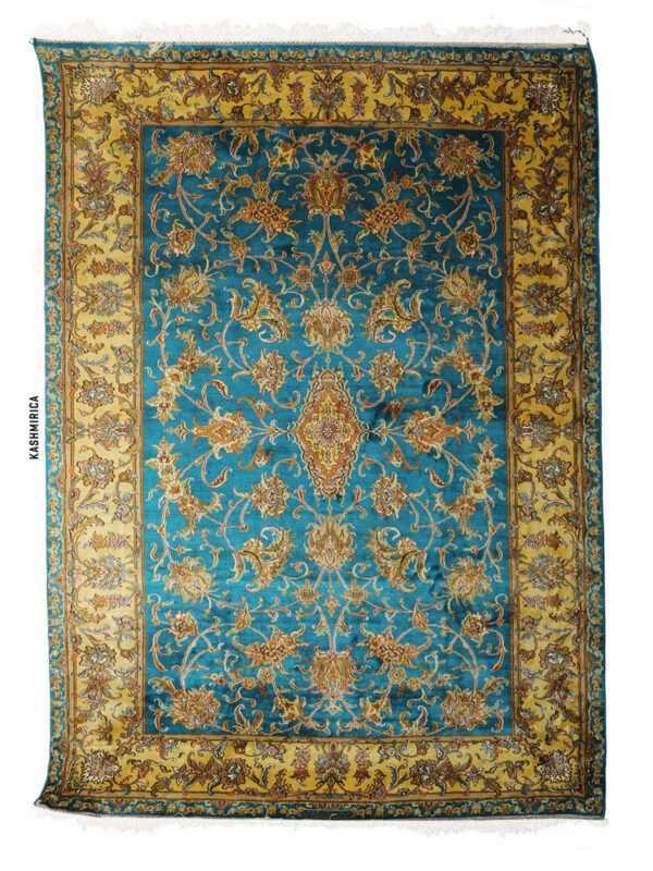 Giaa Kashmiri Carpet White Background