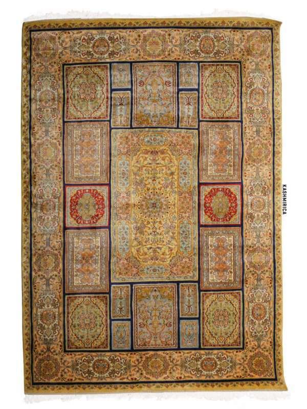 Ida Kashmiri Carpet White Background