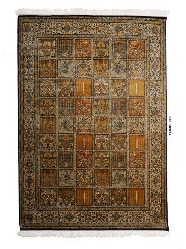 Hyat Kashmiri Carpet White Background