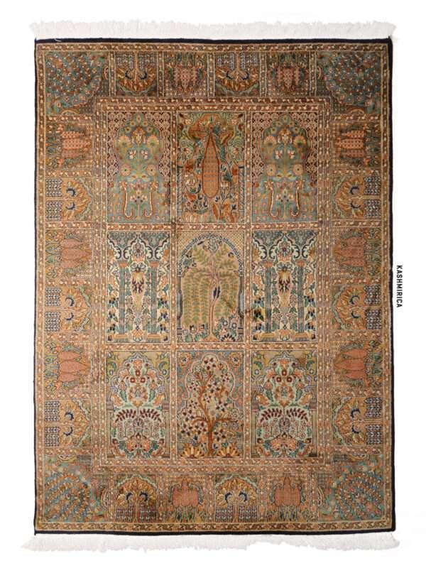 Jiya Kashmiri carpet White Background