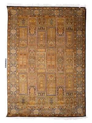 Juri Kashmiri Carpet White Background