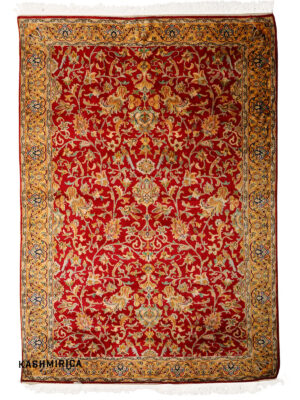 Omid Kashmiri Carpet White Background