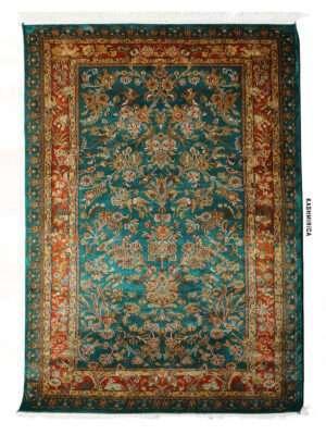 Ines Kashmiri Carpet White Background