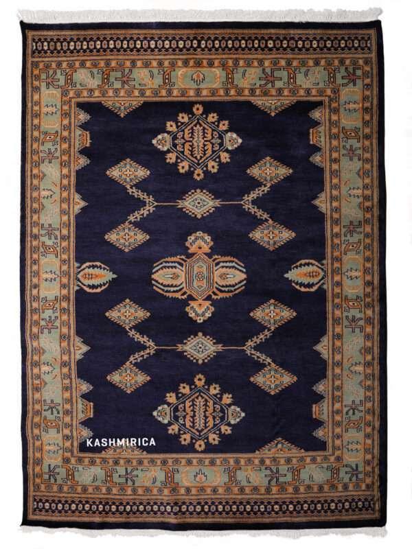 Nora Kashmiri Carpet white Background