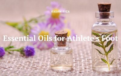 What are the 5 Best Essential Oils For Athlete's Foot?