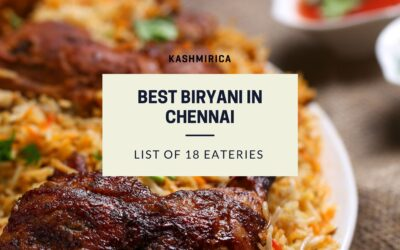 Where can you find the Best Biryani in Chennai?