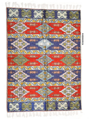 multicolor Kashmiri chainstitch