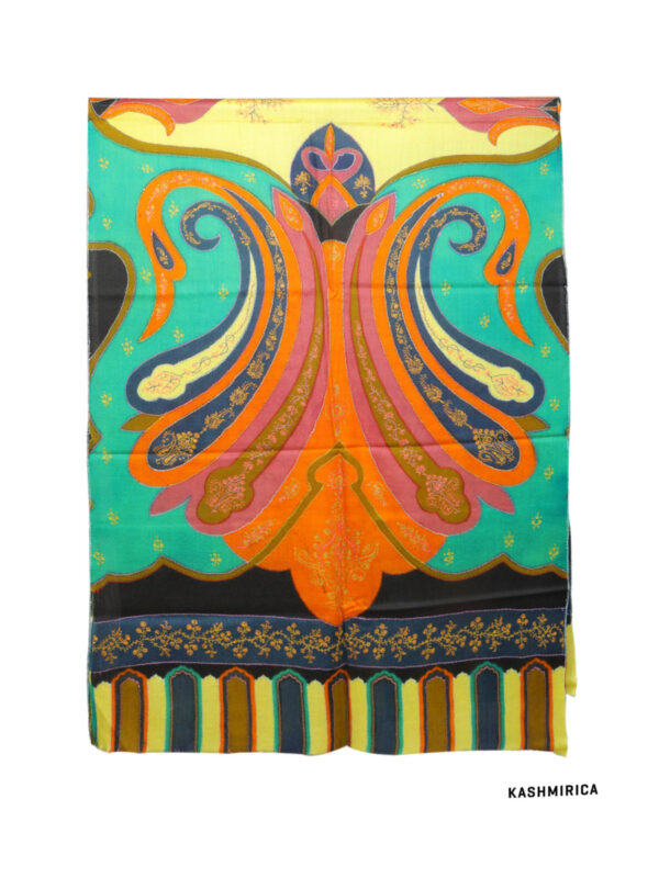 Badam E-jamawar kani pashmina shawl