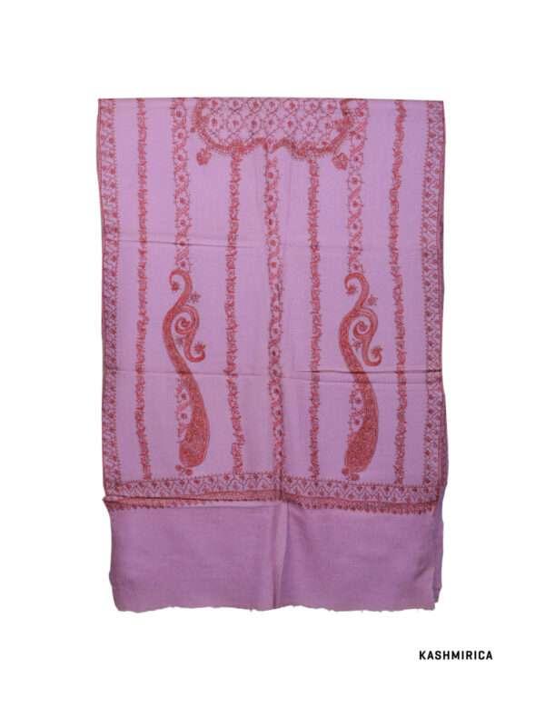 voilet royal pashmina shawl