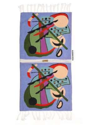 multicolor chain stitch