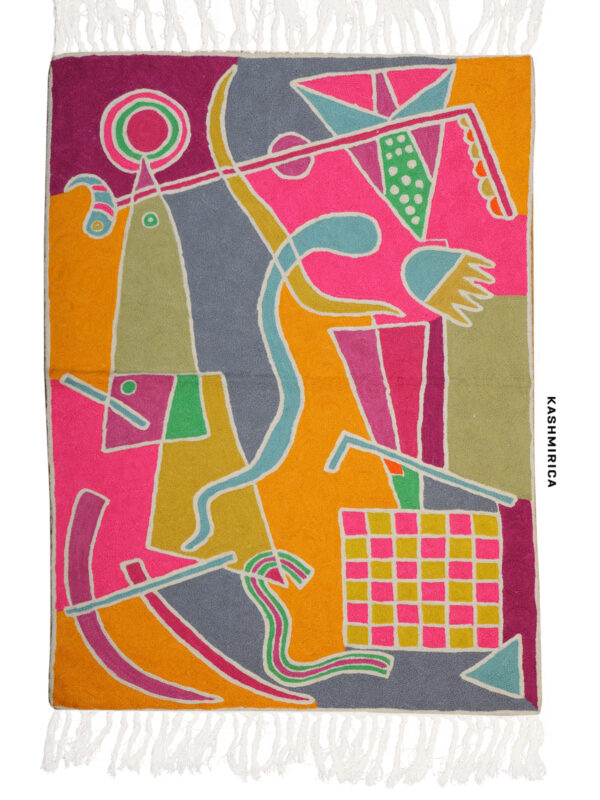 multicolor wall hanging