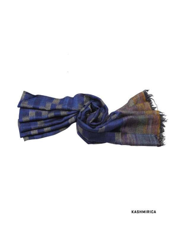 Blue Multicolored check