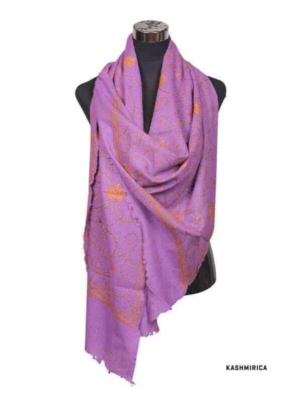 Warqa pashmina shawl